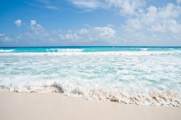 Cancun Beach - fehér homok