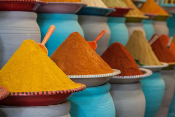 Marokkói fűszerek