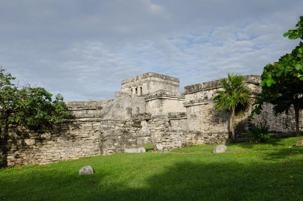 Maya vár