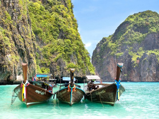 Thaiföld, Phi Phi sziget
