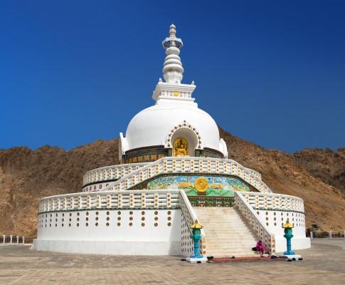 india fehér templom