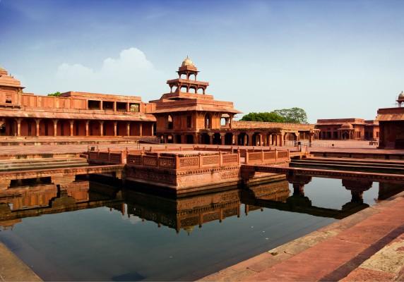 india tükörkép templom