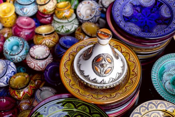marokkó edények