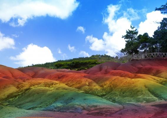 mauritius 7 szinű föld